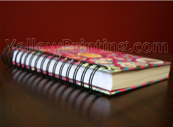 Metal Wire Binding Book