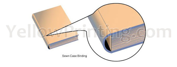 Sewn Case Binding Edition Binding