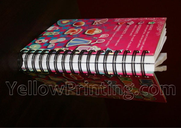 Spiral Wire Binding Diary