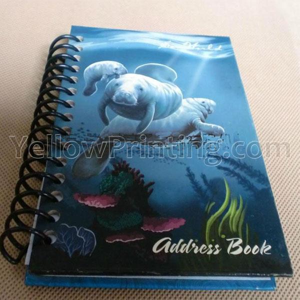 Hardcover Sprial Binding Diary