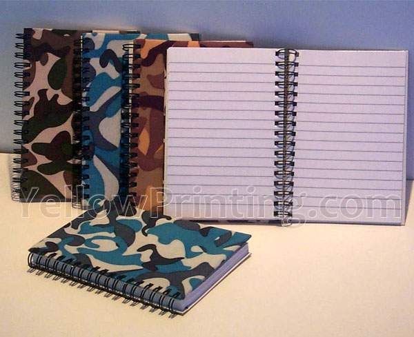 Metal Coil Binding Note Book