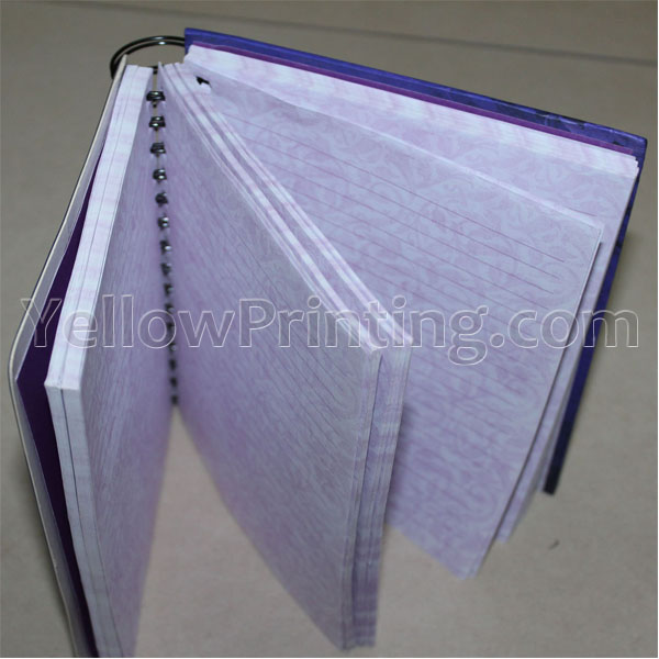 Metal Wire bound notebook