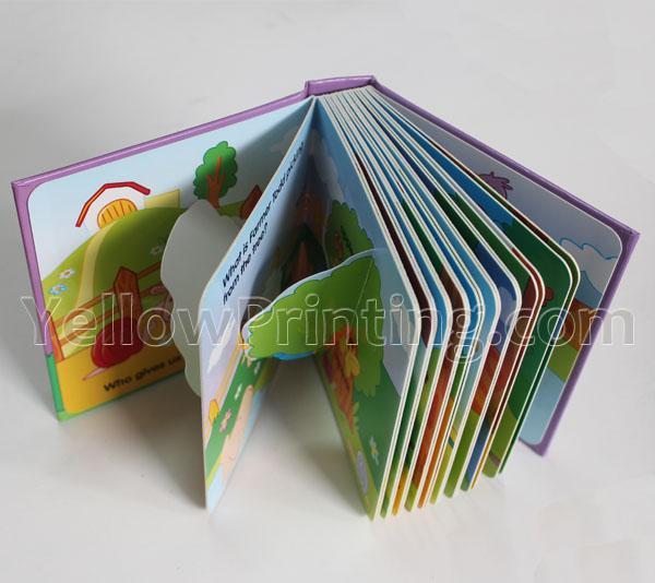 Children Pull-Tab Book