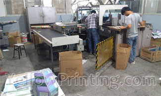 Automatic casing machine