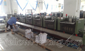 Perfect bound machine for binding process of inner pages