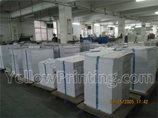 Printing sheets Assembling