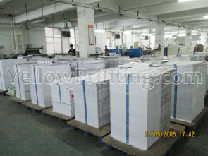 China Catalogs and brochure printing factory