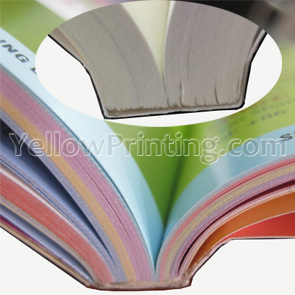 softcover binding paper back book printing