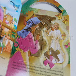 children jigsaw puzzle book printing