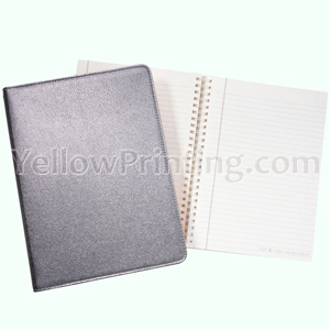 leather executive notebook