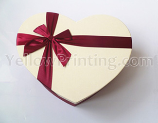 paper gift box with ribbon