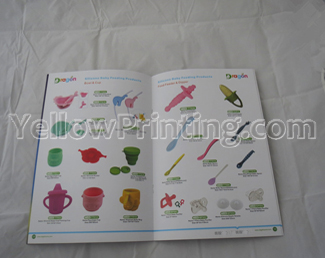 cheap brochure printing service in China