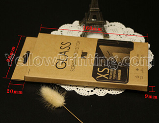 Kraft Paper Packaging Box for hand phone