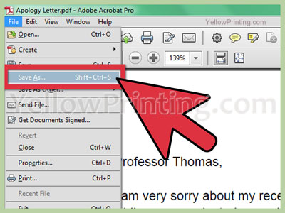 How To Save a PDF File