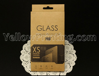 luxury Kraft Paper Universal Retail Package Packaging Box for mobile phone