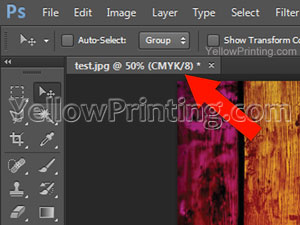 Convert an RGB File to a CMYK File in Photoshop Step 4