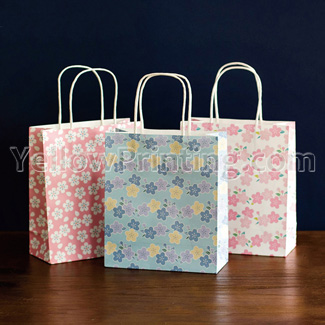 cheap kraft paper bag printing factory