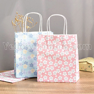 twisted handle kraft paper bag