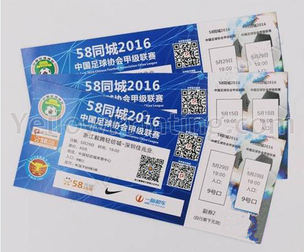Variable Data Ticket Printing